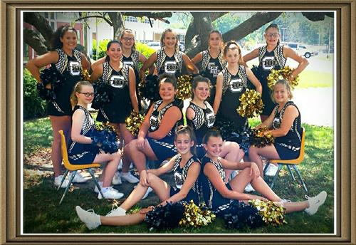 Jr. High Cheerleaders