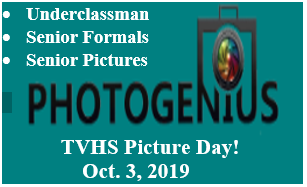 TVHS Picture Day! Oct. 3, 2019