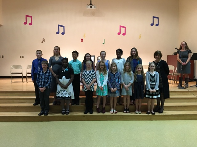 Tar River's Elementary Honor Society Induction Held Feb. 28th