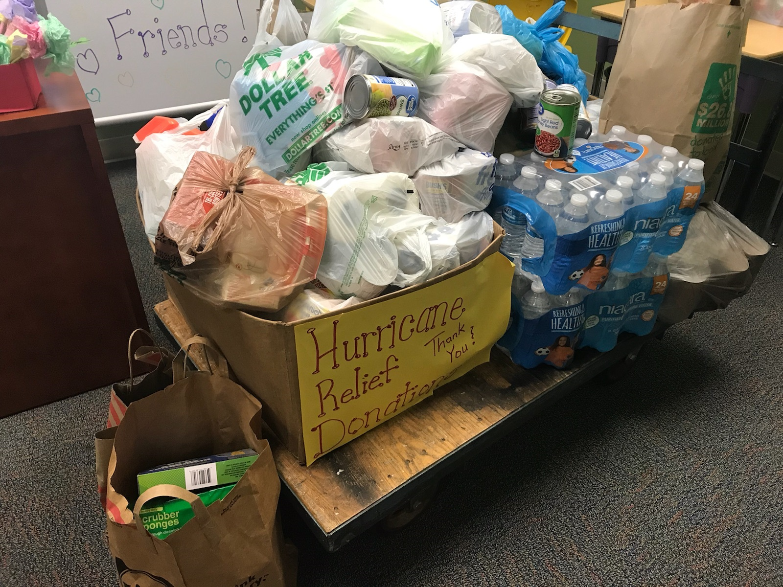HURRICANE RELIEF AT TRES - Thank You!