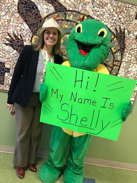 Our Terrapin Mascot Has a Name