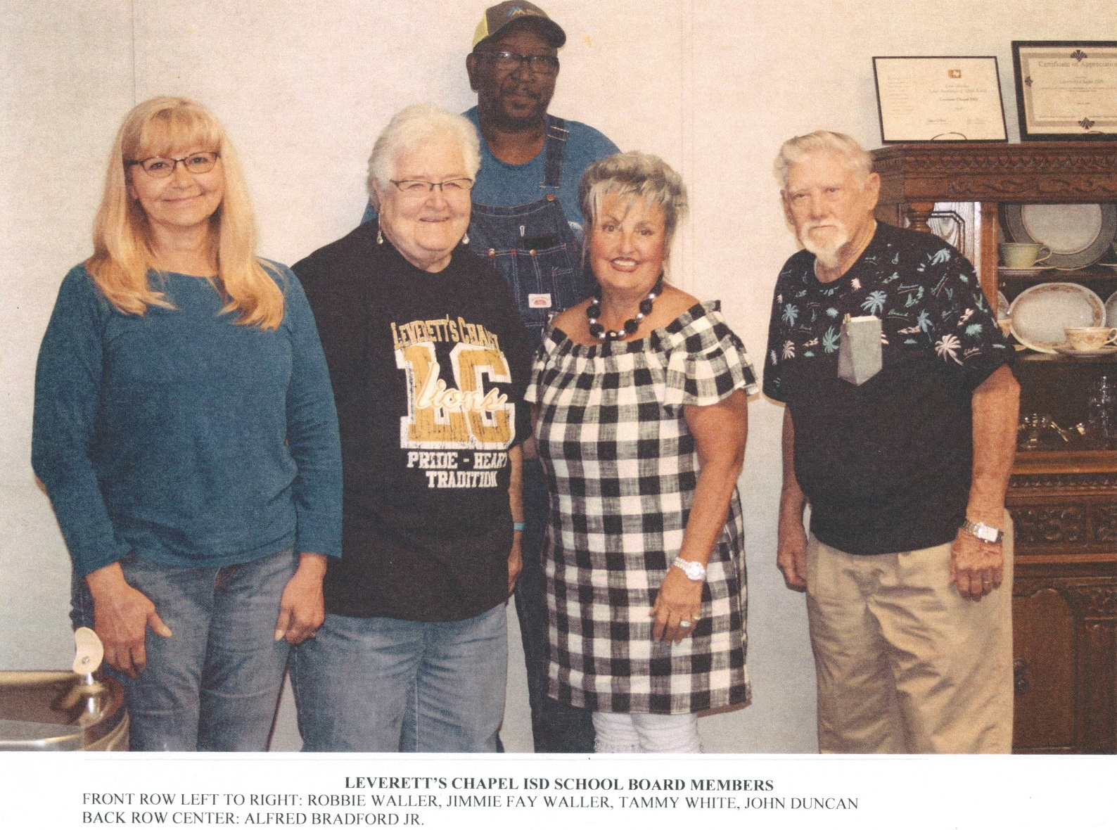 LCISD School Board Members