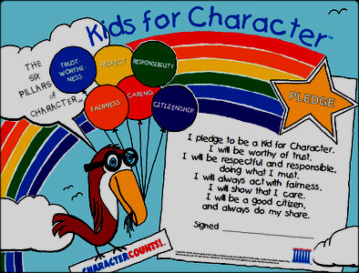 "Sierra Vista's students are ""Kids with Character"""