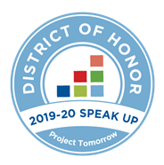 SCPS is a Speak Up District of Honor!