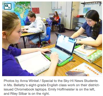 East Grand Schools roll out one-to-one laptops to students