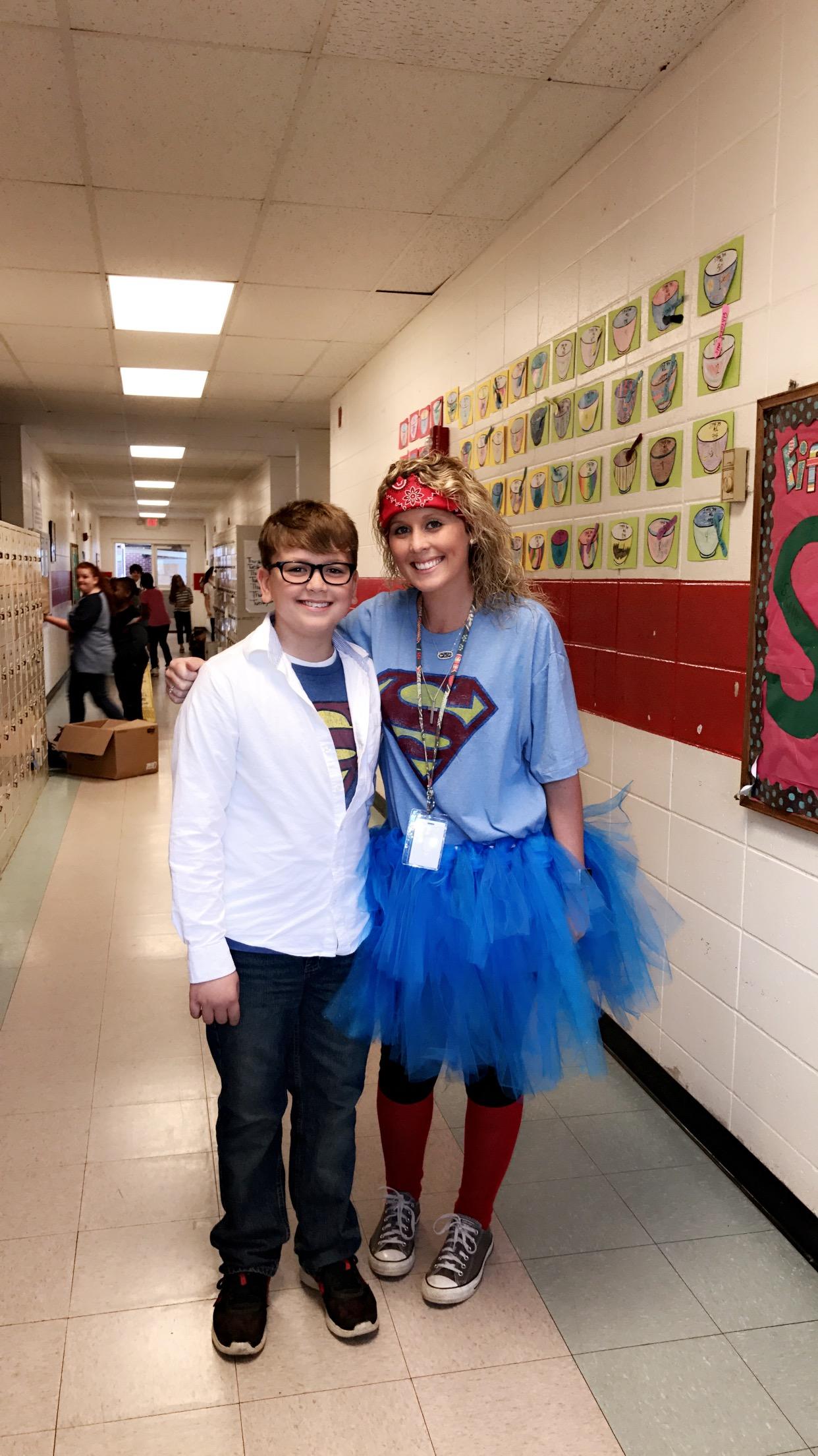 5th Grade Celebrates Homecoming