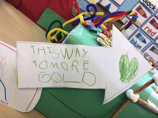 Leperachaun Traps created by Ms. Monica's class