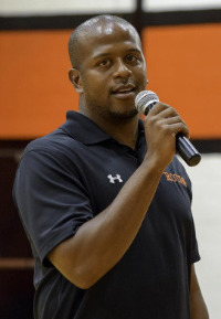 Coach Adrian Daniel