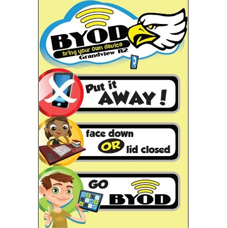 BYOD Classroom Poster