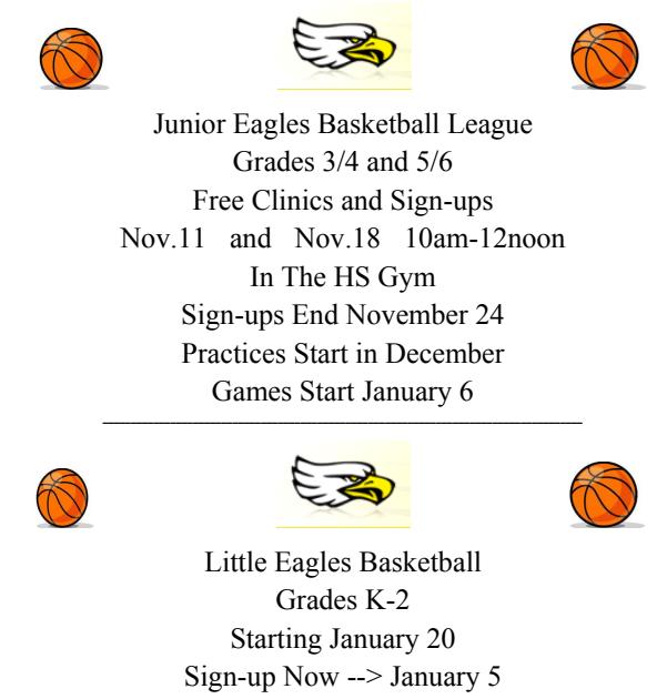 Jr Eagles Basketball