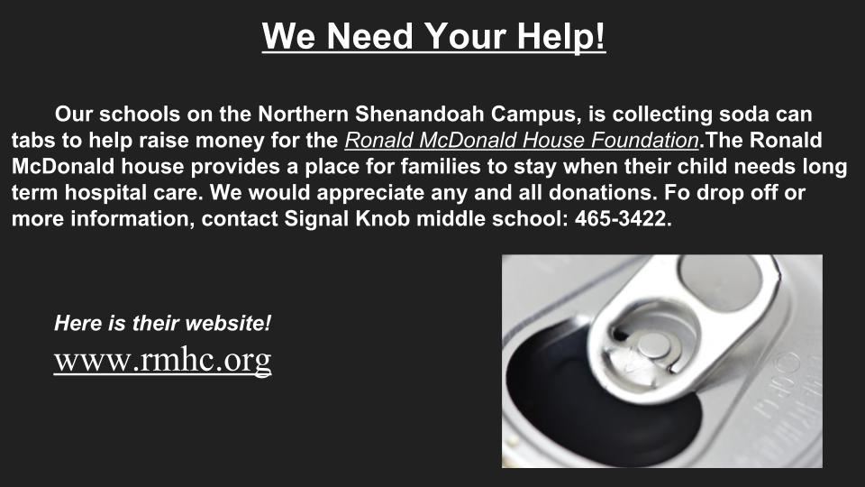 We Need Your Help