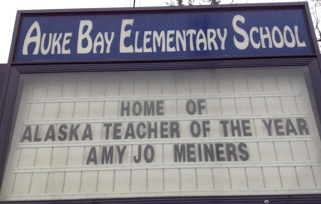 AmyJo Meiners Alaska State Teacher of the Year