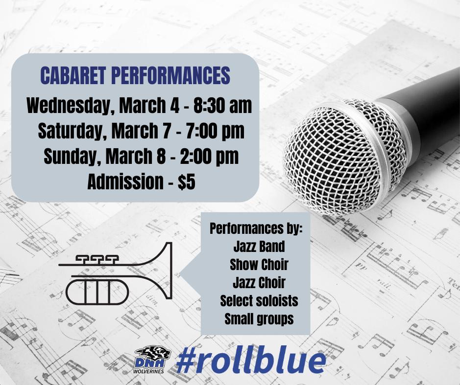 Cabaret Performances