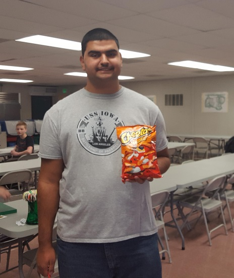 ANDY AND CHEETOS!