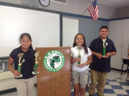 Junior High Toastmasters, Int. Youth Speech Contests