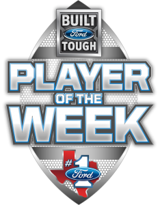 Congratulations to Built Ford Tough Texas High School Football Player of the Week Micah Smith