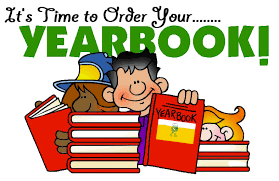 Yearbook Order Deadline: March 27th