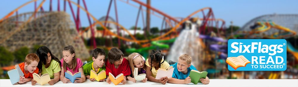 FREE Six Flags Ticket (Read to Succeed)
