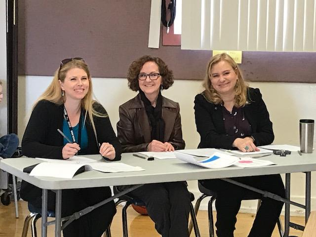 Our Spelling Bee Judges