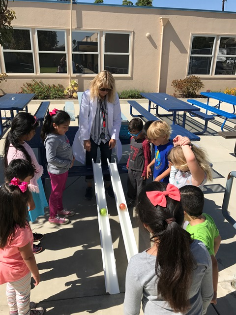 STEM Motion With Apples - Mrs. Osman's Class