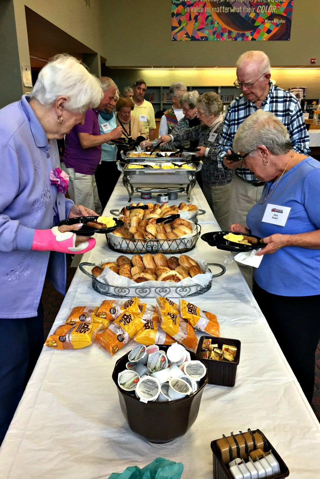 Superintendent's Annual Senior Citizen Breakfast