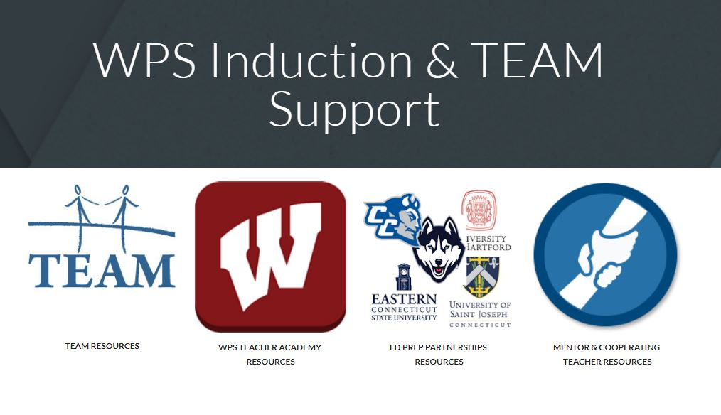 TEAM - New Teacher Induction and Support Google Site