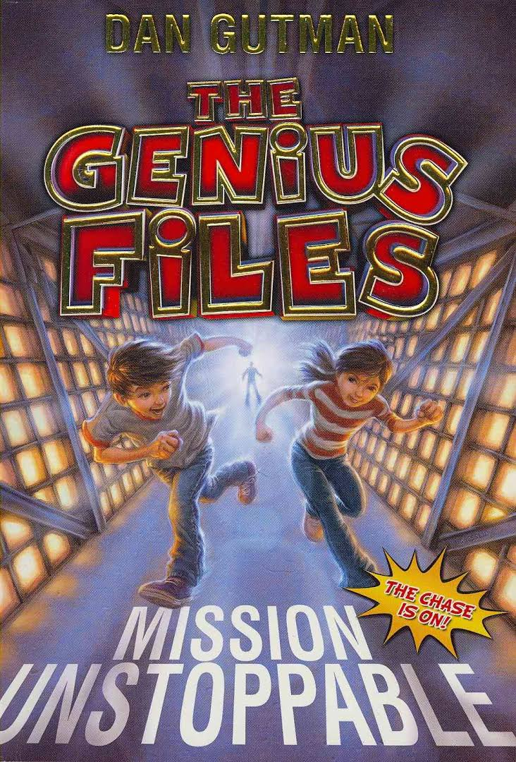 Mariah read the Genius Files by Dan Gutman