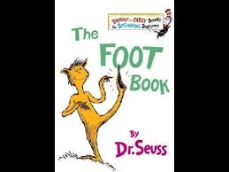 Alaynah read the foot book by Dr Seuss she gave it 5 stars