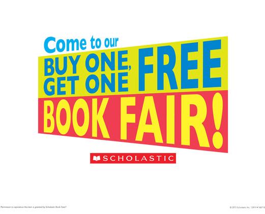 Buy One, Get One Free Bookfair