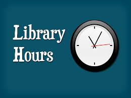 New library hours during lunch!