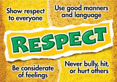 CHARACTER TRAIT OF THE MONTH: RESPECT