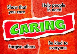 CHARACTER TRAIT OF THE MONTH: CARING