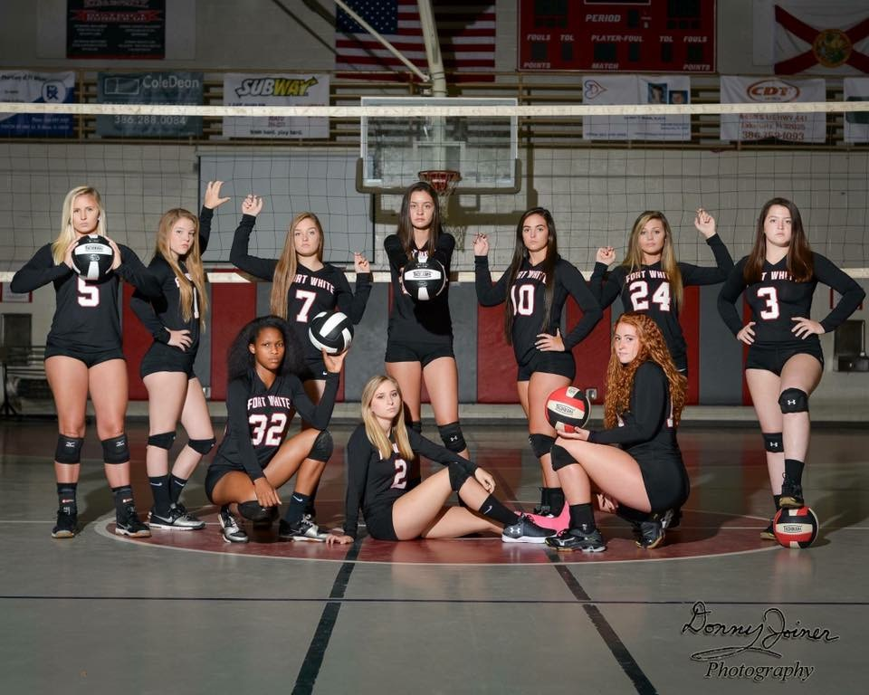 Fort White High School Varsity Volleyball 2017-2018