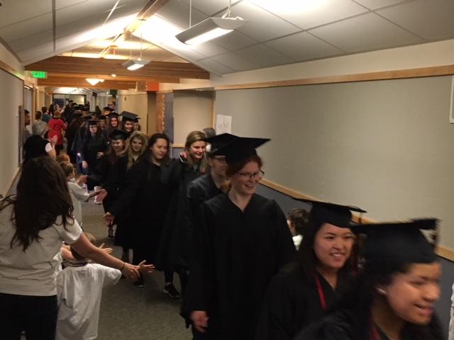 2018 Grad Walk!