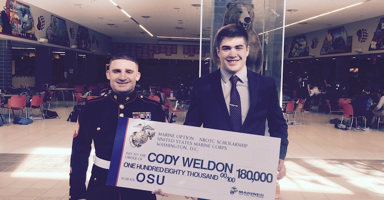 Congratulations Cody Weldon!