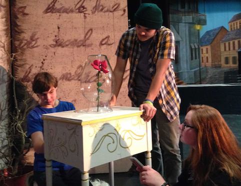Students use robotics in theater production