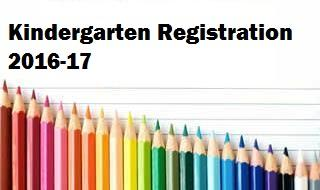 2016-2017 Pre-K and Kindergarten Registration