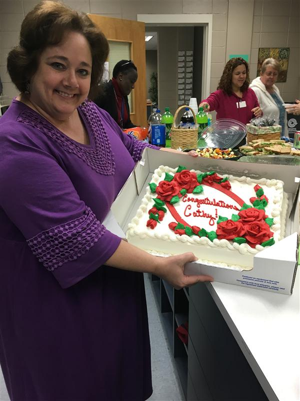 Creedmoor School of the Arts Names Teacher of the Year!