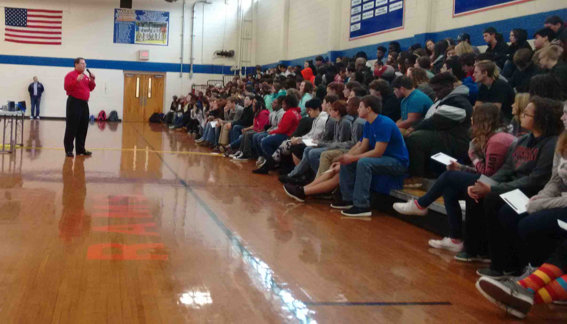 DANGERS OF UNDERAGE DRINKING SHARED WITH VALLEY HIGH SCHOOL STUDENTS