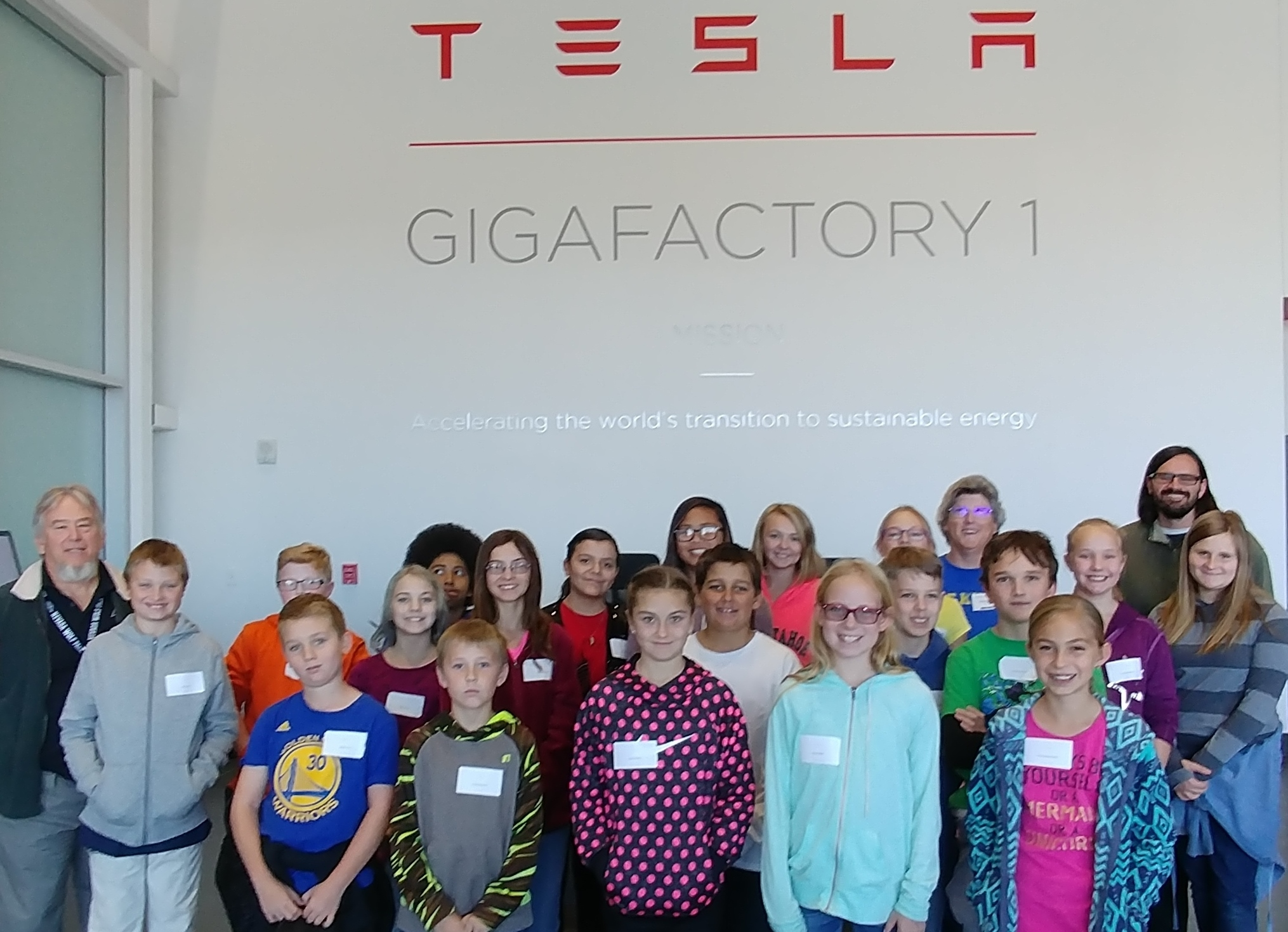 FIS/SMS GT and Acceleration tours Tesla Gigafactory