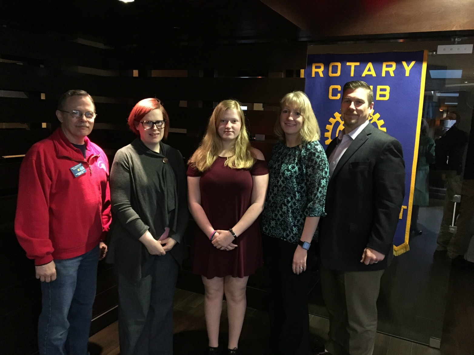 April Rotary Student of the Month