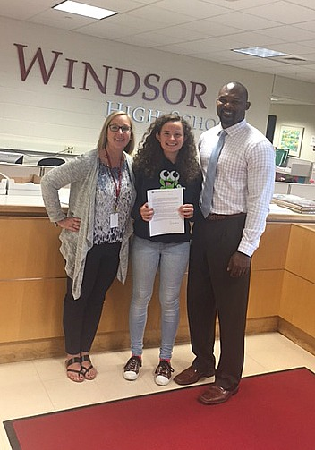 WHS Senior Selected as a 2018 National Merit Scholarship Semifinalist