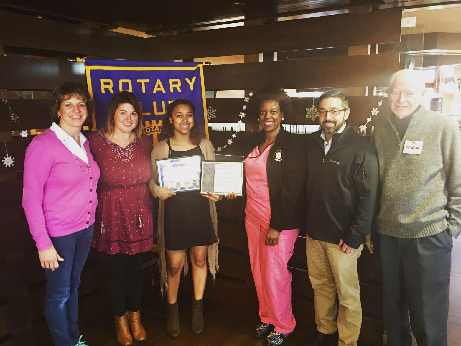 Rotary Student of the Month - Angel Mitto