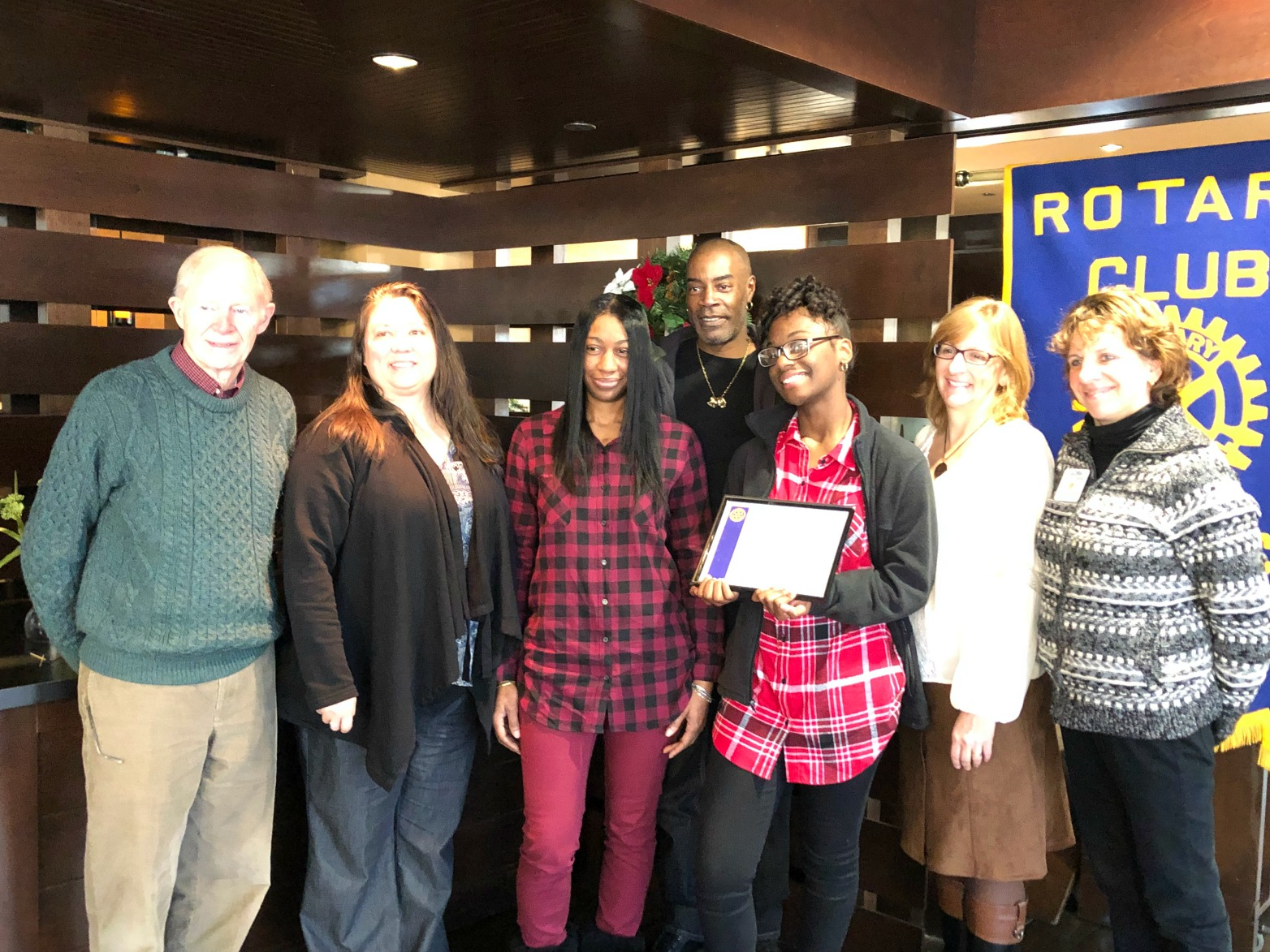 Rotary Club's November Student of the Month