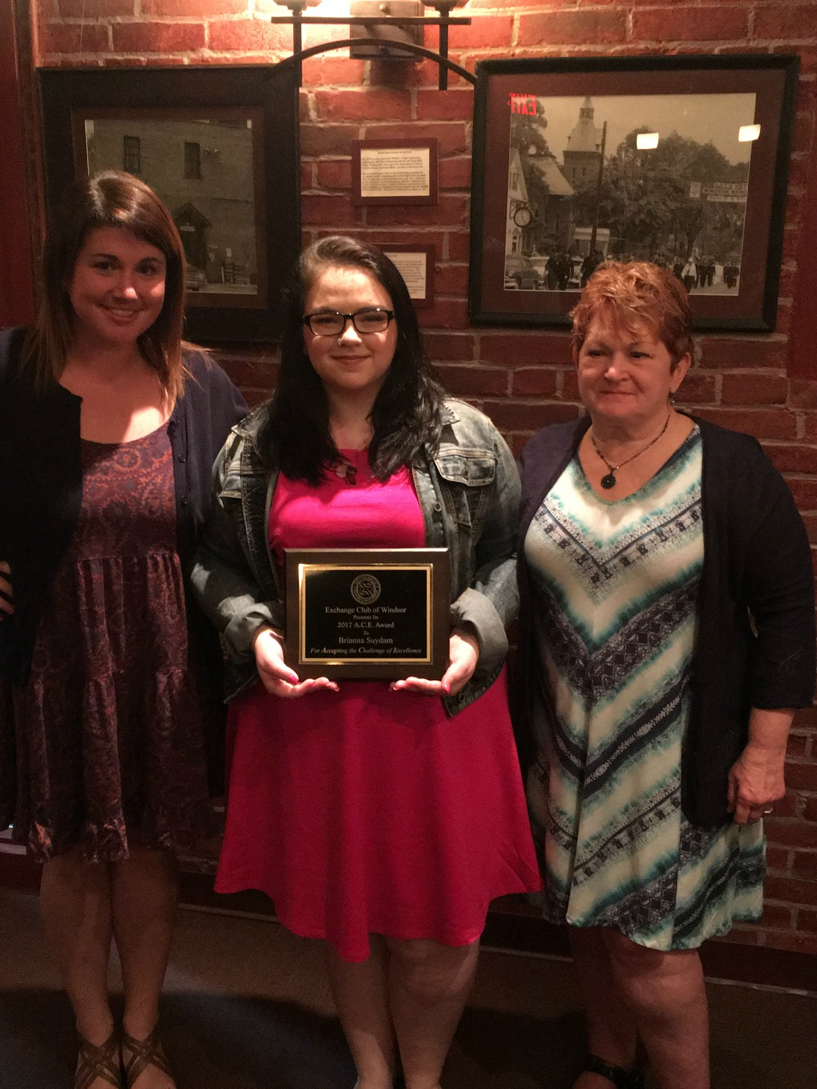 Exchange Club of Windsor Honors WHS student with A.C.E. Award