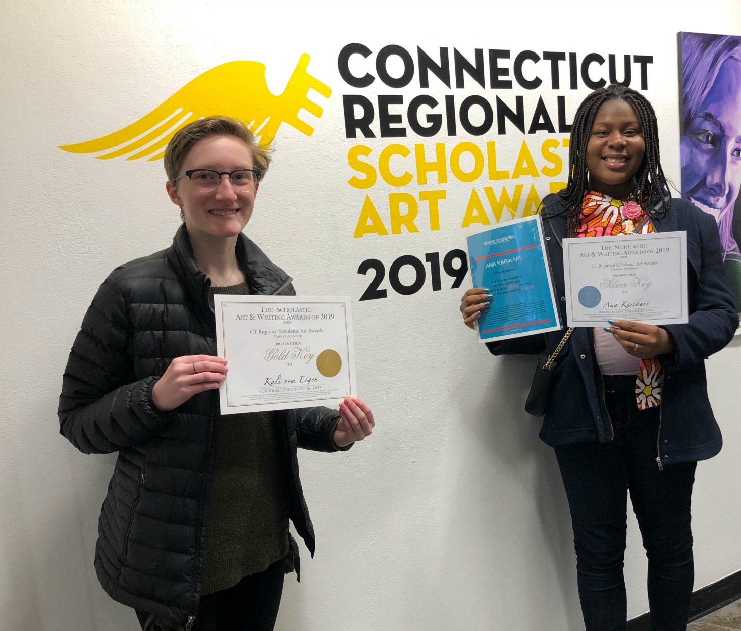 WHS Art Students Earn $240,000 in Scholarships