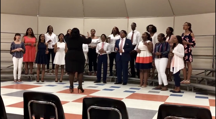 WHS Gospel Choir Receives 2018 Grand Sweepstakes Award