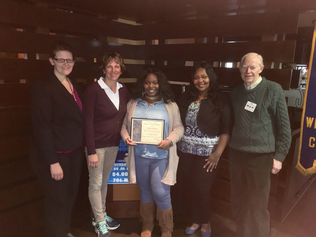 Rotary Student of the Month - Marissa Ellison