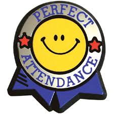 Perfect Attendance September 5th- October 4th