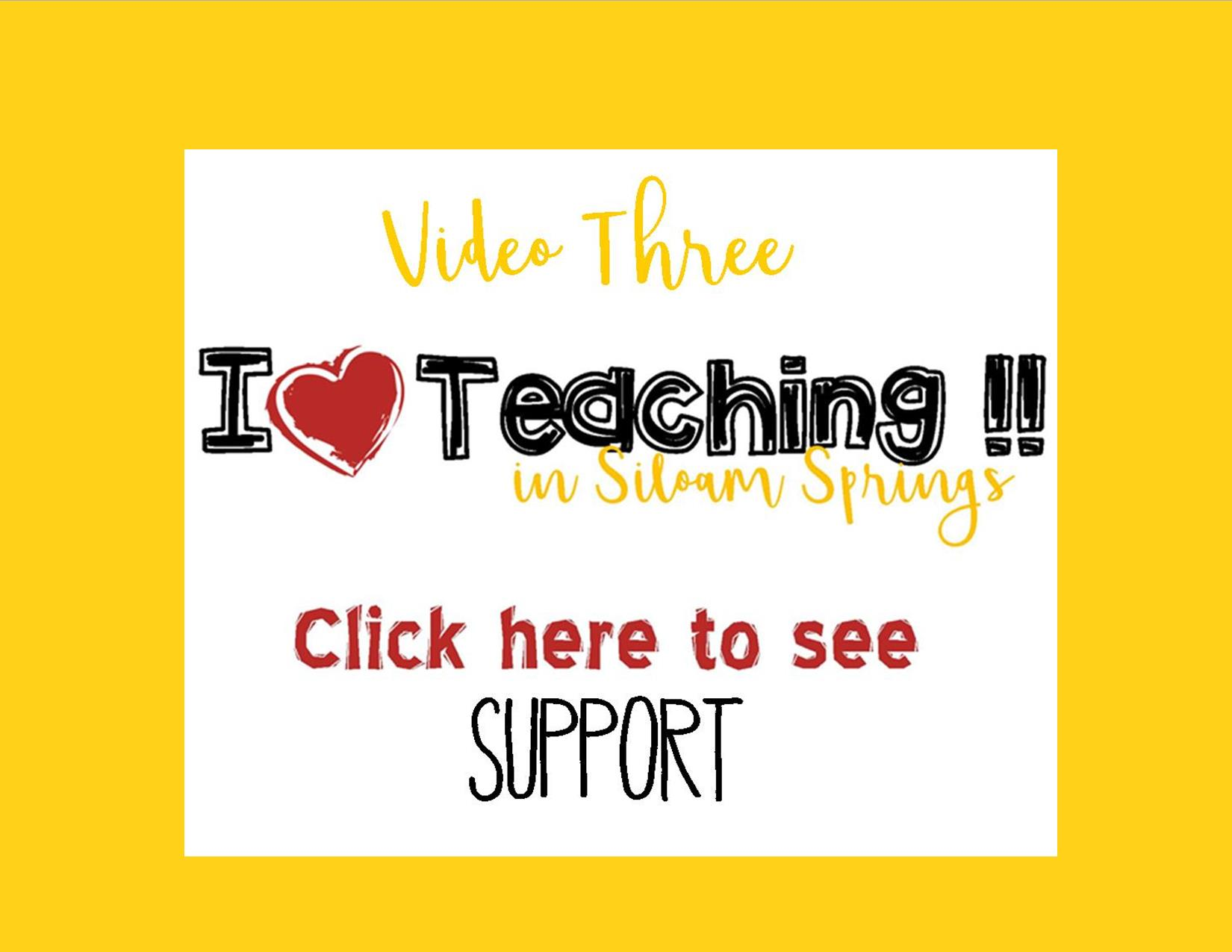 TEACHER VIDEO
